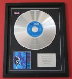 GUNS N' ROSES - Use Your Illusion II CD / PLATINUM PRESENTATION DISC